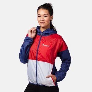 Cotopaxi Teca Olympian Windbreaker Zip Up Jacket